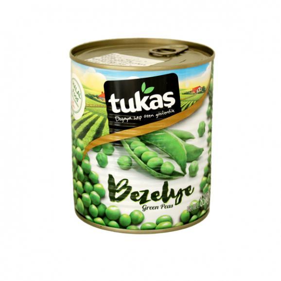 Tukas - グリーンピース缶詰830g01