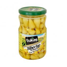 Tukas - ベービーグリーンペッパーピクルス 680g