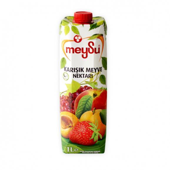 MEYSU フルーツミックス 1L - MEYSU MIXED FRUIT JUICE 1L - MEYSU KARIŞIK MEYVE SUYU 1L01