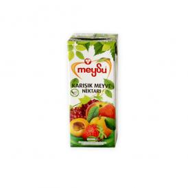 MEYSU フルーツミックス 200ml - MEYSU MIXED FRUIT JUICE 200ml - MEYSU KARISIK MEYVE SUYU 200ml