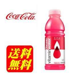 【送料無料】グラソー ビタミンウォータースーパーC 500mlPET12本【1ケース】