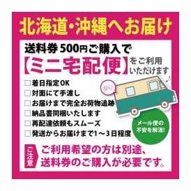 ミニ宅配便追加送料券+500円[北海道・沖縄へお届け]