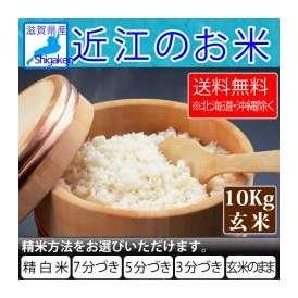 【送料無料※北海道・沖縄を除く】28年 近江のお米(滋賀県産10割) 10kg玄米 【精米方法が選べます】