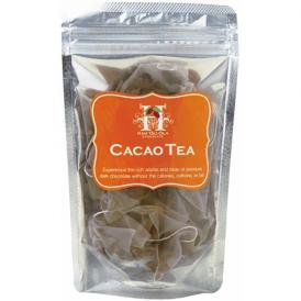 カフェインフリー、カロリーゼロ、ミネラルが豊富なカカオ豆から出来たお茶、出来ました!便利は個装タイプ