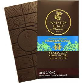 ワイアルアエステートチョコレート カカオニブバー