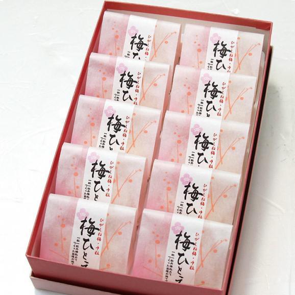 【熟成2段仕込み】梅ひとえ「完熟梅/中粒」化粧箱10ヶ入り03