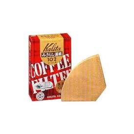 【カリタ】コーヒーフィルターみさらし102濾紙2〜4人用/100枚入