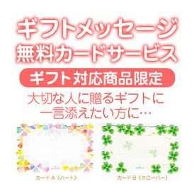 メッセージカードサービス【ギフト対応商品限定】