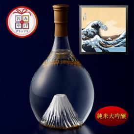 富士の酒「飛竜乗雲」 純米大吟醸(風呂敷:波裏に富士)