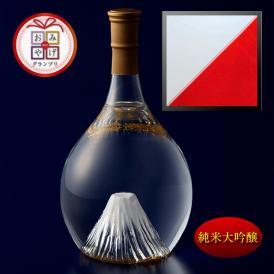 富士の酒「飛竜乗雲」 純米大吟醸(風呂敷:紅白)