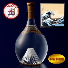 富士の酒「飛竜乗雲」 本格米焼酎(風呂敷:波裏に富士)
