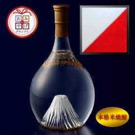 富士の酒「飛竜乗雲」 格米焼酎(風呂敷:紅白)