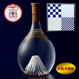 富士の酒「飛竜乗雲」 本格米焼酎(風呂敷:市松)