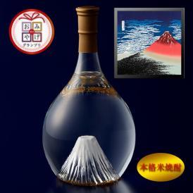 富士の酒「飛竜乗雲」 本格米焼酎(風呂敷:赤富士)