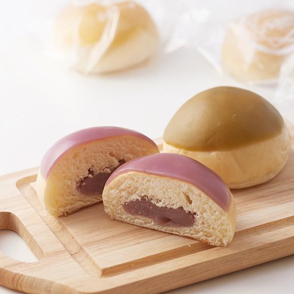 羊羹ぱん 5個入りセット(プレーン、抹茶、栗、柚子、紫芋)02