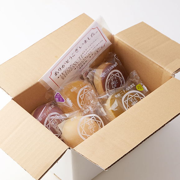 羊羹ぱん 5個入りセット(プレーン、抹茶、栗、柚子、紫芋)03