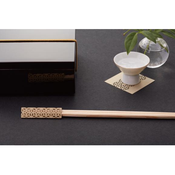 お箸飾り6枚セット利久箸付き01