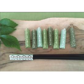 お箸飾り9個セット 金白墨