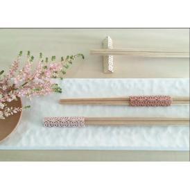 お箸飾り5個セット利久箸付き 白