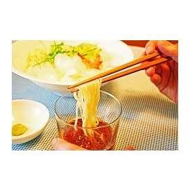 本場久留米ラーメン「さっぱり鰹だし!アラスカ風つけ麺(8人前)」セットキンキンに冷して食べる鰹だしのつけ麺!278kcal