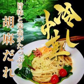 【冷やし中華 お取り寄せ 特製 胡麻だれ 冷し中華 6人前セット ごま栄養 旨味たっぷり さっぱりスープ サラダ風 冷麺 涼麺 保存食お試しグルメ