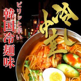 【送料無料】冷麺お試しセット(6人前)【特製 韓国冷麺味】気になるカロリーも控えめ!☆ノンフライの九州熟成麺で健康指向!