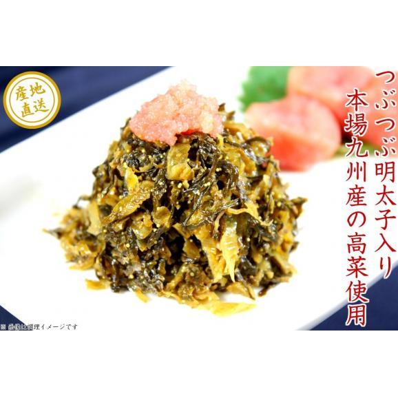 ◆ピリ辛明太子高菜&胡麻旨辛高菜コンビセット(80g)×2袋入り お試しセット02