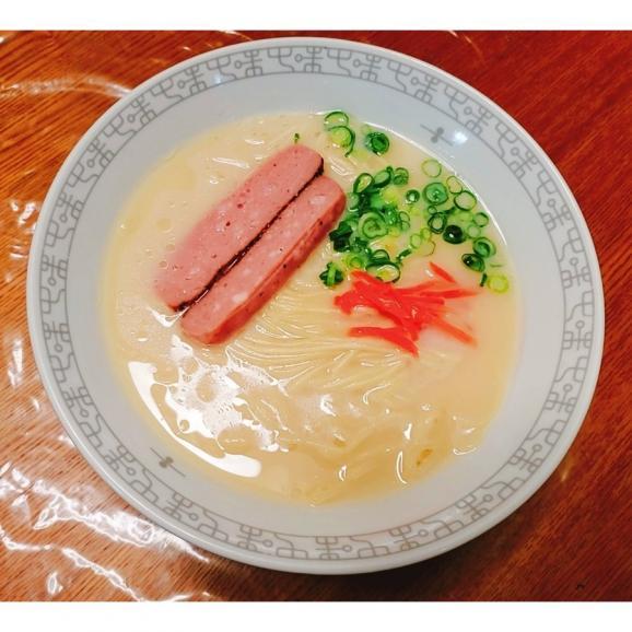 久留米ラーメン 九州生麺 セット 白濁豚骨スープ付 2人前 お取り寄せ ご当地ラーメン 特産品 メール便商品 お試しグルメギフト06