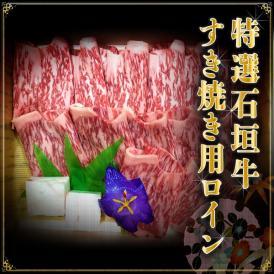 【送料無料】特選石垣牛すき焼き用ロイン 300g