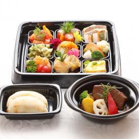 彩り前菜とお店で大人気タンシチューセット