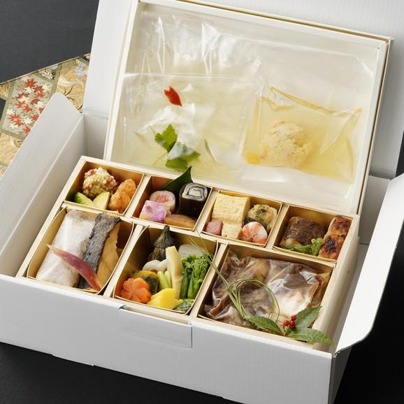 【家族祝・おうちで本格懐石を楽しめる】東京・青山の日本料理 ~星のなる木懐石白木重~ 1名様分02