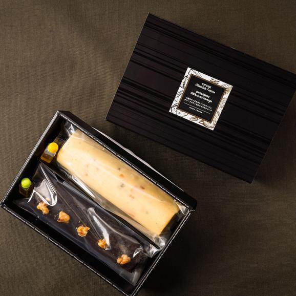 【手土産におすすめ】オリーブグラッセのショコラテリーヌ&4種チーズのガトーフロマージュ01
