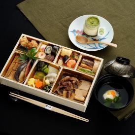 【送料込×秋限定50個】おうちでお祝いに東京・青山の日本料理 懐石白木重~甘味付~1名様分