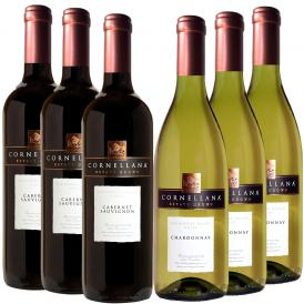【送料無料】ワイン6本セット!シェフソムリエおすすめ家飲みワイン(赤×3・白×3)