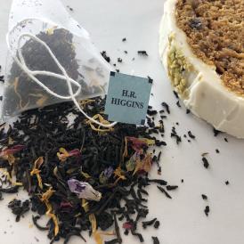 ブルーレディ(青い貴婦人)6バッグ入り 紅茶のプチギフト【英国王室御用達・H.R.ヒギンス】