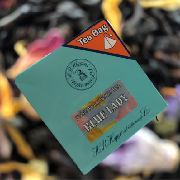 ブルーレディ(青い貴婦人)6バッグ入り 紅茶のプチギフト【英国王室御用達・H.R.ヒギンス】03