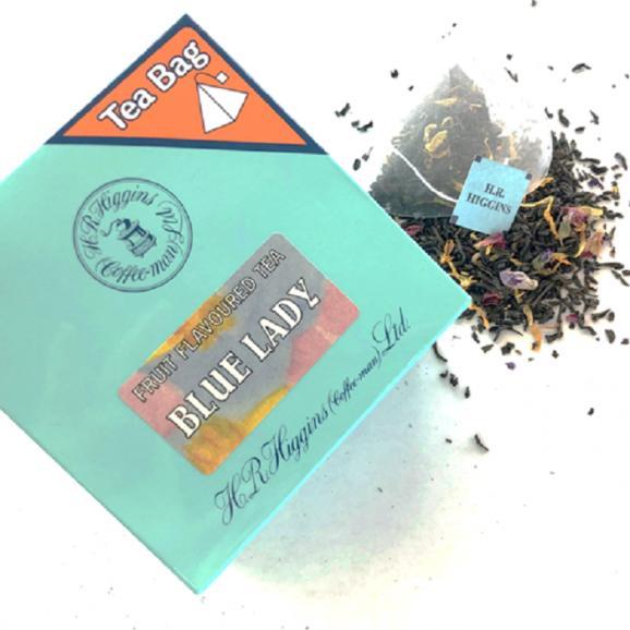 ブルーレディ(青い貴婦人)6バッグ入り 紅茶のプチギフト【英国王室御用達・H.R.ヒギンス】04