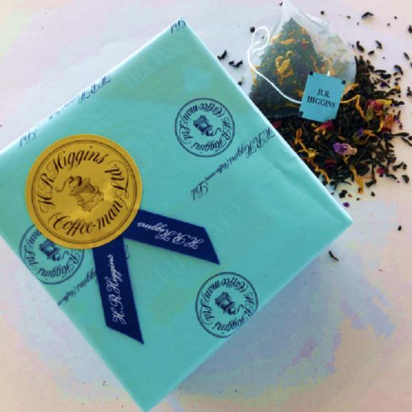 ブルーレディ(青い貴婦人)6バッグ入り 紅茶のプチギフト【英国王室御用達・H.R.ヒギンス】05