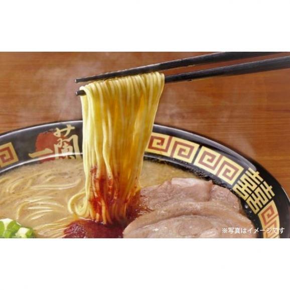 一蘭ラーメン 博多細麺ストレート 一蘭特製赤い秘伝の粉付 (5食入) 03
