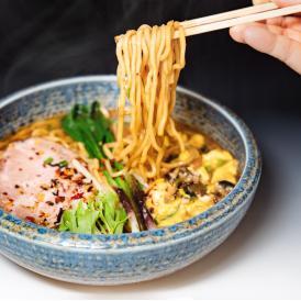 【生麺/4食】元気のでるみそラーメン(エコ包装)送料無料