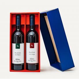 【Occi Gabi (赤&白)ギフトセット】余市地区、自社圃場100%のブドウ。大島が体験してお届けする珠玉の手作りワイン!(冷蔵便)関東まで