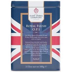 紅茶・正規輸入品・英国・東インド会社 紅茶 ロイヤルフラッシュO.P.1リーフティー