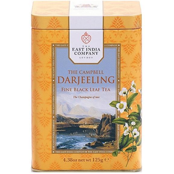 紅茶・正規輸入品・英国・東インド会社 紅茶 ザ・キャンベル・ダージリン リーフティー 01