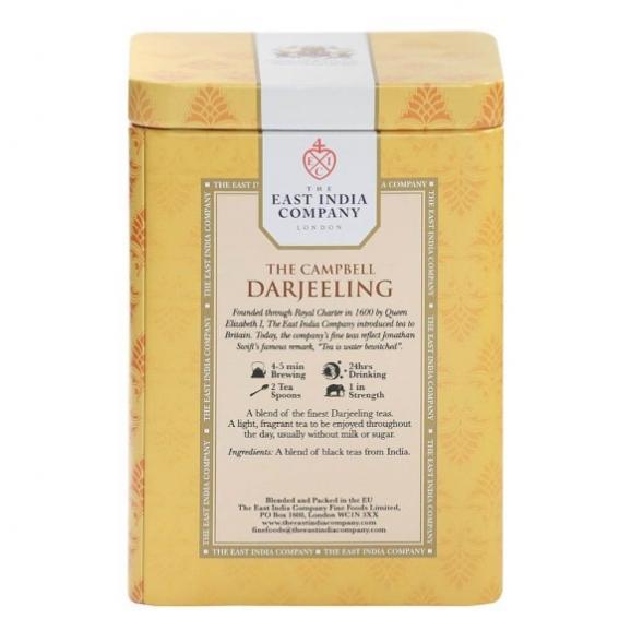 紅茶・正規輸入品・英国・東インド会社 紅茶 ザ・キャンベル・ダージリン リーフティー 03