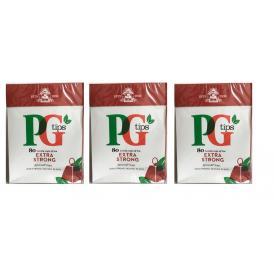 【ワケアリ】【3個セット】【送料無料】英国紅茶 PG TIPS ピージーティップスストロング ピラミッド型 ティーバッグ 80袋入