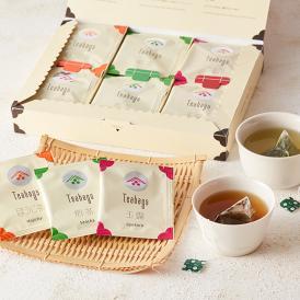 手軽に本格的な味わいが楽しめるティーバッグの詰合せ。玉露、煎茶、ほうじ茶の3種類の日本茶が楽しめます