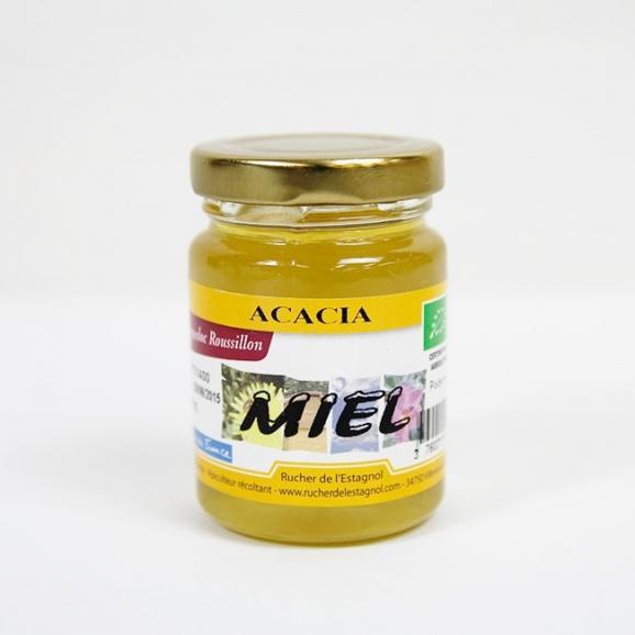 フランス産オーガニック アカシア蜂蜜 125g01