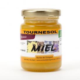 フランス産オーガニック ヒマワリ蜂蜜 125g