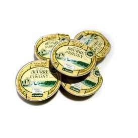有塩 バター フランス ノルマンディー産 イズニー Isigni AOP 25g×5個 セット