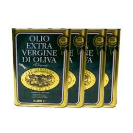 サンジュリアーノ EXV オリーブオイル (3L×4本) イタリア サルディーニャ州